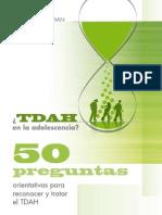 15760354 TDAH en La Adolescencia