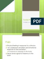 Fetal Pain