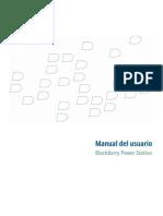 BlackBerry Power Station Manual Del Usuario
