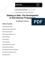 Dealing in Hate - Connors, Michael F.