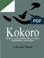Hearn Lafcadio - Kokoro