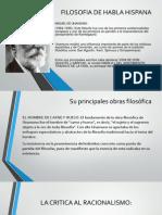Filosofia de Habla Hispana
