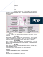 Anotações de Práticas Médicas II