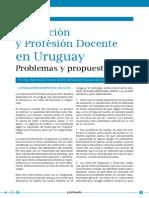 Evaluacion y Profesion Docente en Uruguay