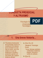 Social Conducta Prosocial y Altruismo