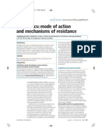 Antibiotic Action and Resistance
