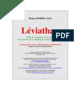 Léviathan 3e partie La République chrétienne