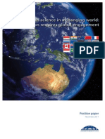 Australian Science in a Changing World -Innovation Requires Global Engagement