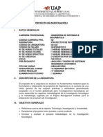 Proyecto ..Pm-bok Silabo