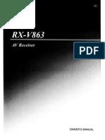 RX-V863