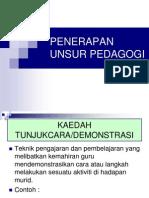 demonstrasi atau pedagogi