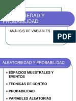 Variables Aleatorias y Probabilidad