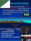 MÉTODO DE REFLEXIÓN VER-JUZGAR-ACTUAR