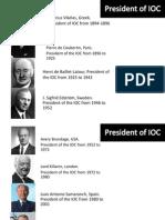 IOC Members