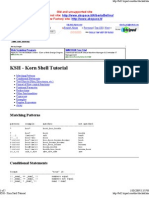Ksh korn shell tutorial | c (programming language) | software.