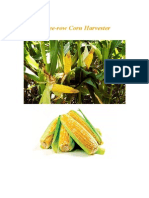 Three-row Corn Harvester