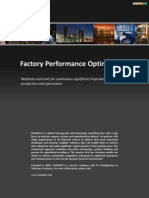 Factory Performance Optimization
