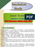 Amit Dissolution Study