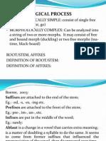 Morphology Typology 2