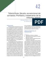 Tuberculosis. Estudio convencional de contactos. Profilaxis y tratamiento de la infección latente