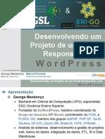 Desenvolvendo um projeto de um portal responsivo com WordPress - 10° FGSL
