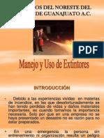 Introduccion Al Manejo de Extintores -Manuel