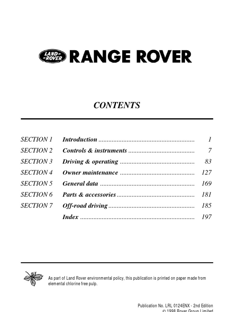 1998 Range Rover Wiring Diagram Schema Img Abs Pressure Control Switch Land Discovery Engine