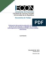 Modelo de Vectores Autorregresivos Estructural SVAR