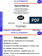 Optical Ethernet