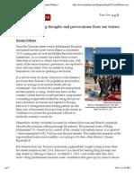 How Morocco Dodged the Arab Spring by Nicolas Pelham | NYRblog | the New York Review of Books