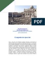 O Segredo Do Opus Dei