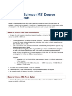 UIC_Master of Science_requirements