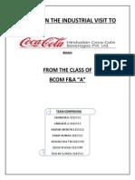 industrial visit to coca cola .pdf