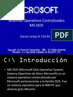 Sistemas Operativos Centralizados
