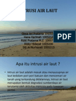 Intrusi Air Laut