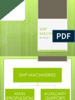 Ship Machineries