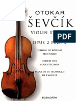 93122298 Violin Sevcik School of Bowing Techniques Op 2 Book 2