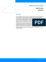 Atmel 11209 32 Bit Cortex M4 Microcontroller SAM G51 Datasheet
