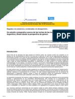 Comparación de la evolución de la Mujer Rural en Argentina y Brasil