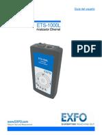 User Guide ETS-1000L (Spanish) 1058624