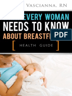 What Every Woman Needs to Know About Breastfeeding