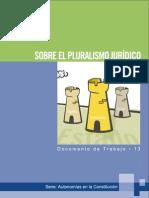 Pluralismo Juridico A