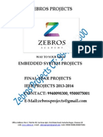 Design and Development of Pic Microcontroller Based Vehicle Monitoring System Using Controller Area Network (Can) Protocol_zebros Ieee Projects