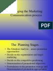 Managing the Marketing Communication Process