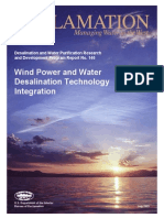 Report146 Wind Power and Water Desalination Tech Integration