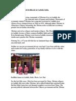 Tibetan Refugees Seek Livelihoods in Ladakh/ By Luv Puri