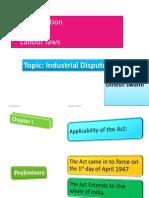 Dinesh IndustrialDispute Act