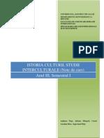 Istoria Culturii, Studii Interculturale