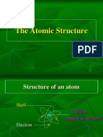 Chapter 2b the Atomic Structure