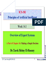 2_Lectures 33 35 Expert Systems Ch.16